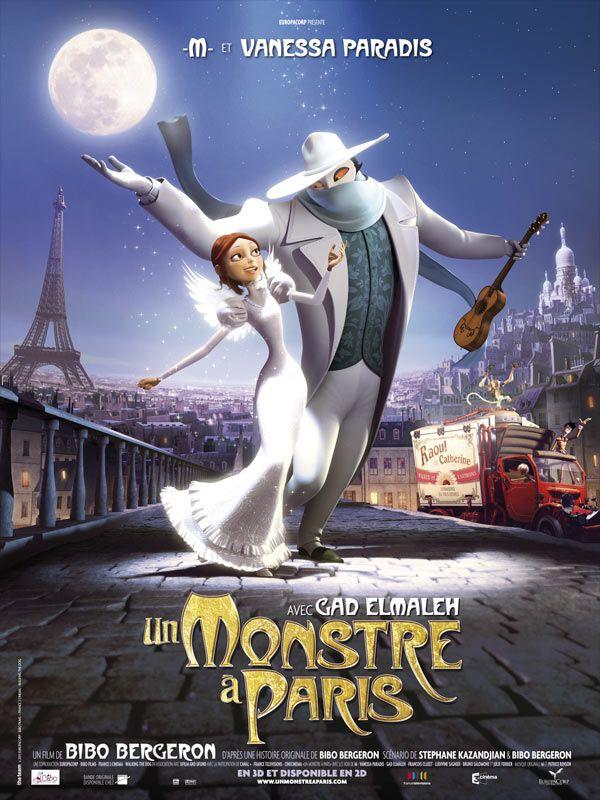 Un Monstre à Paris - L'affiche