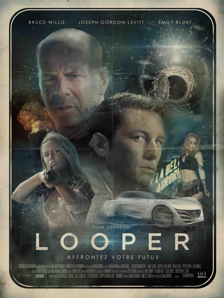 Looper Affiche Vintage