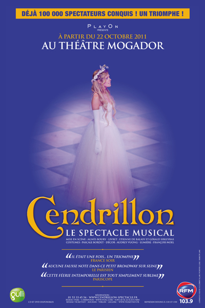 Cendrillon le spectacle musical