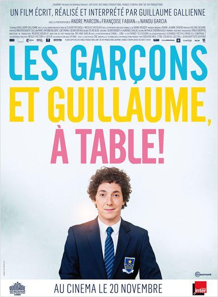 Guillaume, les garçons à table !