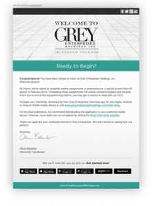 Fifty Shades of Grey letter
