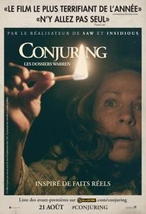 Concours : The Conjuring, les dossiers Warren, gagnez des goodies du film