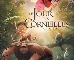 Critique : Le jour des corneilles de  Jean-Christophe Dessaint  avec les voix de Jean Reno, Lorànt Deutsch, Isabelle Carré