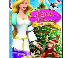 Concours : Le cygne et la princesse, un Noël enchanté, des DVD à gagner