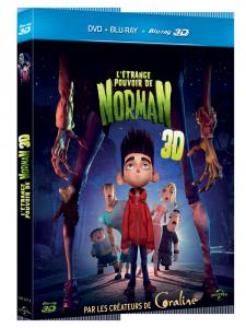 Sortie DVD et concours : L'étrange pouvoir de Norman en vidéo le 22 janvier 2013