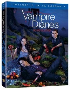Série TV : Vampire Diaries saison 3 – Test DVD