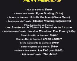 HIMYB 6 : Cérémonie des HIMYB Awards 2012