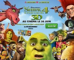 Shrek 4 : Concours Dreamworks, jeux Flash et bande annonce interactive