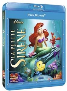 News : La petite Sirène pour la première fois en Blu-Ray