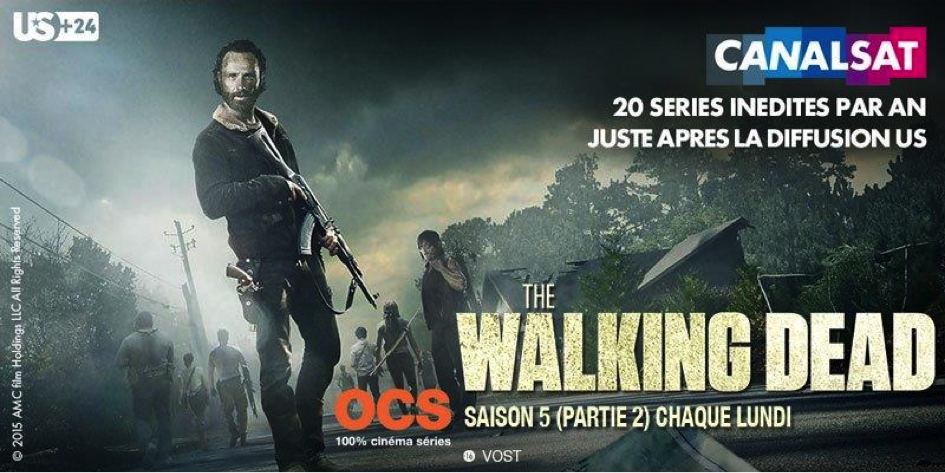 Walking Dead Canalsat