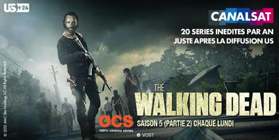 Walking Dead Canalsat