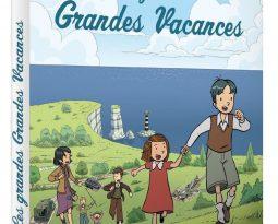 Sortie DVD et Avis : Les Grandes Grandes Vacances, la série animée disponible dès le 3 juin