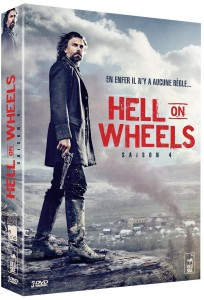 Hell on Wheels saison 4 DVD