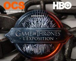 Exposition Game of Thrones : Westeros arrive à Paris du 8 au 12 Septembre !