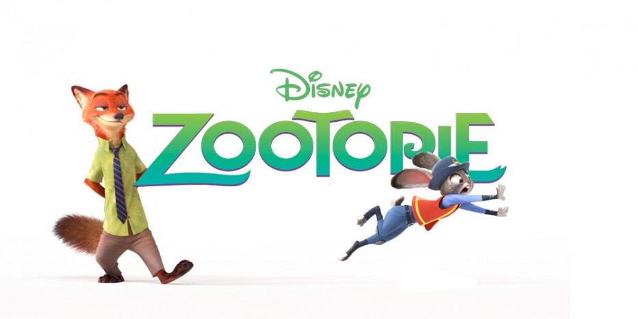 zootopie logo titre