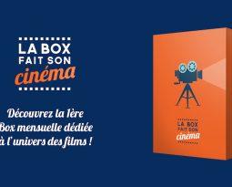 La Box Fait Son Cinéma, le cadeau idéal pour sa maman cinéphile !