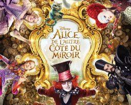 Critique du film Alice de l'Autre Côté du Miroir avec  Mia Wasikowska, Johnny Depp, Helena Bonham Carter