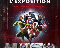 Exposition Marvel Avengers S.T.A.T.I.O.N à Paris