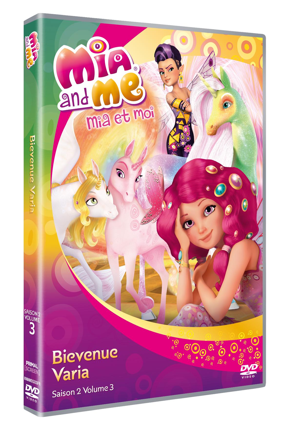 Sortie dvd mia et moi bienvenue varia saison 2 volume 3 - Mia et moi saison 2 ...