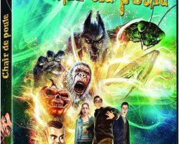 Avis DVD : Chair de Poule Le Film avec  Jack Black, Dylan Minnette, Odeya Rush