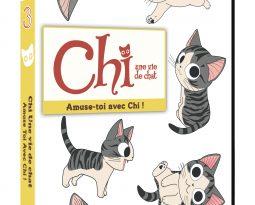 Sortie DVD : Chi, une vie de chat – la série animée adaptée du célèbre manga