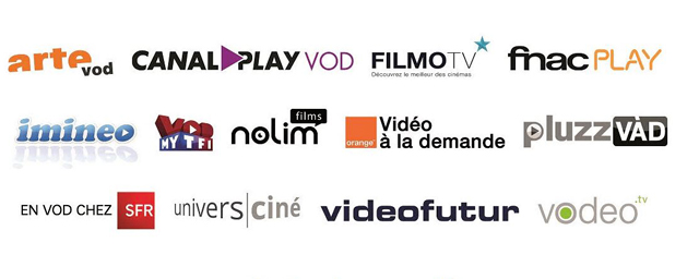 plateformes VOD