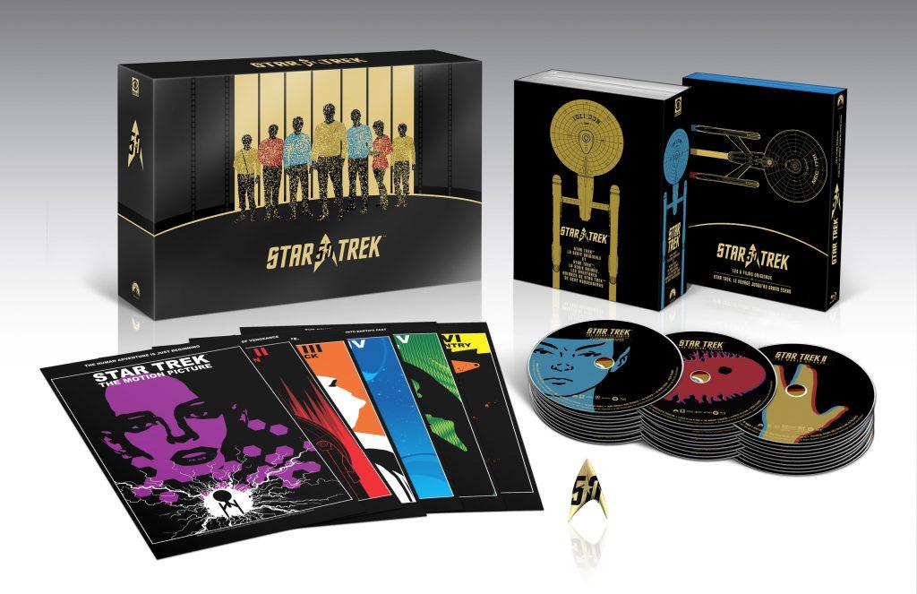 Coffret Star Trek 50 ans