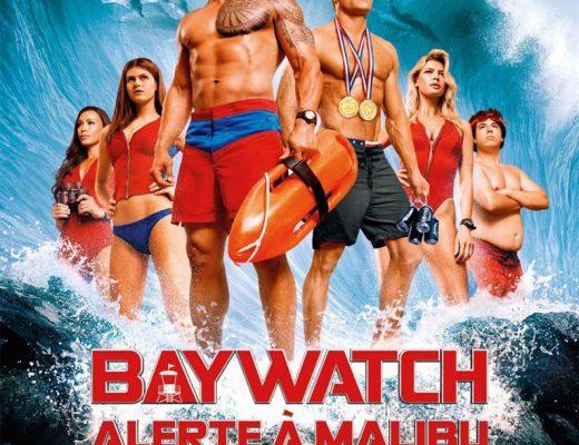 Critique du film Baywatch – Alerte à Malibu de Seth Gordon avec Dwayne Johnson, Zac Efron,