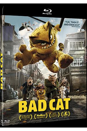 Gagnez des Blu-ray et DVD du film d'animation Bad Cat