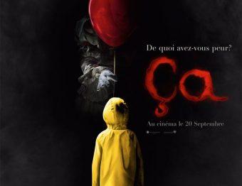 Avis Film – Ça (It) de Andy Muschietti avec Bill Skarsgård, Jaeden Lieberher, Finn Wolfhard