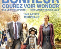 Critique du film Wonder de Stephen Chbosky avec Jacob Tremblay, Owen Nilson, Julia Roberts