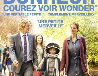 Critique du film Wonder de Stephen Chbosky avec Jacob Tremblay, Owen Nilson, Julia Roberts