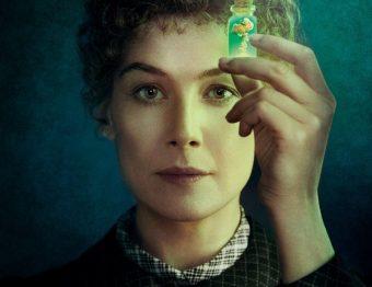 Critique Film – Radioactive de Marjane Satrapi avec Rosemund Pike, San Riley