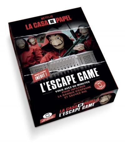 Escape Games et Séries TV : Friends, La Casa de Papel, Peaky Blinders